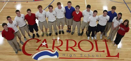 St. Brigid Class of 2009 alumni, Nick Donohue (4th from right), is a Commended Student in the National Merit Scholarship Competition for 2013.